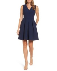Draper James Love Circle Fit Flare Dress