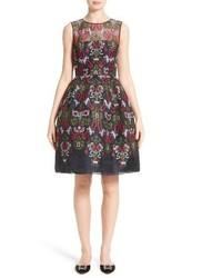 Needlepoint fit flare dress medium 3686456