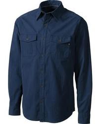 Marmot Black Hawk Long Sleeve Shirt Dark Mineral Flannel Shirts