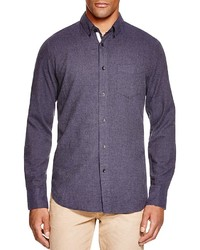 rag & bone Lightweight Flannel Regular Fit Button Down Shirt