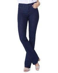 NYDJ Barbara High Waist Stretch Short Bootcut Jeans