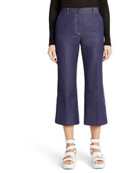 MSGM Crop Flare Jeans