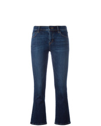 J Brand Cropped Selena Bootcut Jeans
