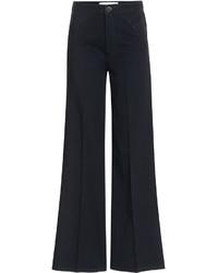 Victoria Beckham Denim Cropped Flare Jeans
