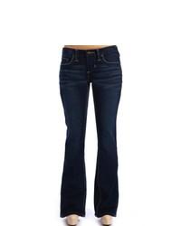 Excel Kind Company Stitchs White Stitch Flare Jeans