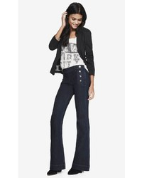 Express Mid Rise Bell Flare Sailor Jean | Where to buy & how to wear