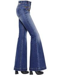 Stella McCartney Flared Organic Cotton Denim Jeans