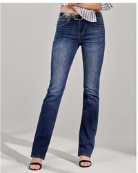 a3ddf49d695 Express Mid Rise Bootcut Original Distressed Jeans Out of stock · Express Mid  Rise Stretch Barely Boot Jeans