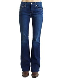 7 For All Mankind Petite Lexie A Pocket Jean In Vixen Sky