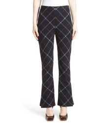 Awake Awake Fitted Crop Flare Pants
