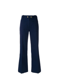 Tory Burch Flared Cropped Trousers