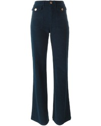 See by Chloe See By Chlo Corduroy Flared Trousers