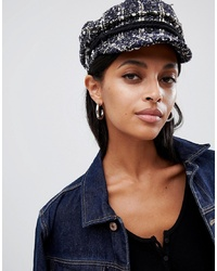 ASOS DESIGN Boucle Baker Boy Hat