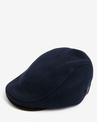 Ted Baker Eianpat Wool Herringbone Flat Cap