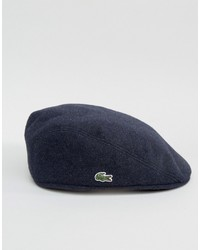 Lacoste Flat Cap In Navy