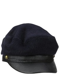 Genie By Eugenia Kim Jessa Wool Felt Marine Cap With Leather Bill