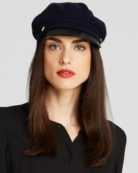 Lauren Ralph Lauren Greek Fisherman Hat With Leather Brim