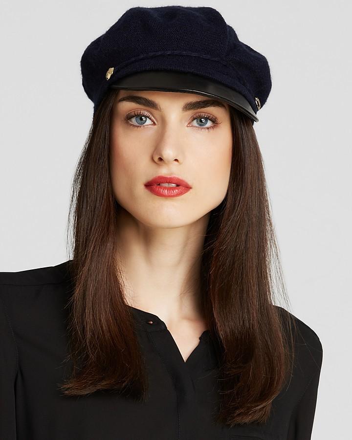 Lauren Ralph Lauren Greek Fisherman Hat With Leather Brim