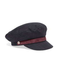 Rag & Bone Med Checked Tweed Cap
