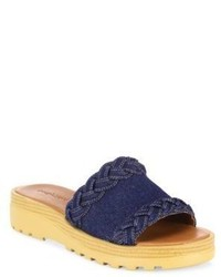 See by Chloe Robin Denim Slides
