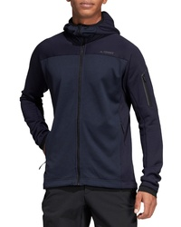 adidas Stockhorn Hooded Fleece Jacket