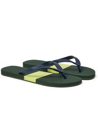 Orlebar Brown Haston Colour Block Rubber Flip Flops