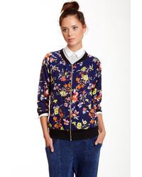 Freeloader floral bomber jacket medium 118533