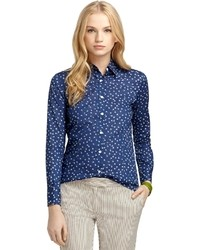 Brooks Brothers Floral Print Shirt