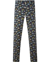 Etro Floral Print Chino Trousers