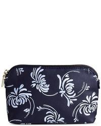 Navy floral clutch medium 3674483