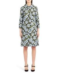 Dolce & Gabbana Dg Button Floral Jacquard Coat
