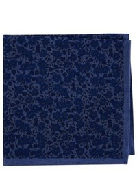 Ted Baker London Floral Flannel Pocket Square