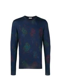 Etro Floral Knit Sweatshirt