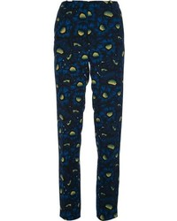 Kenzo Abstract Floral Print Trouser
