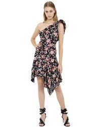 Isabel Marant Laminated Floral Jacquard Dress
