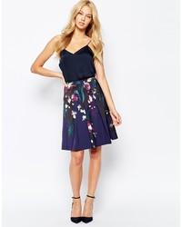 Ted Baker Quirina Floral Full Skirt