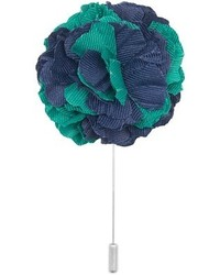 Dibi dark aqua navy blue lapel pin medium 654057