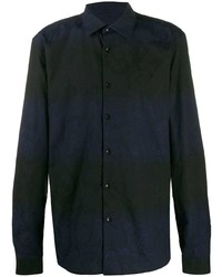 Versace Collection Floral Two Tone Shirt