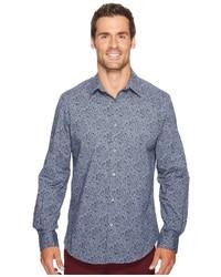 Midnight floral shirt long sleeve button up medium 5061381