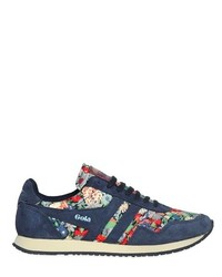 Spirit liberty floral suede sneakers medium 165244