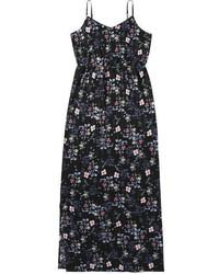 Joe Fresh Floral Maxi Dress Navy