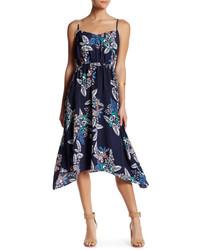 Joe Fresh Floral Midi Slip Dress