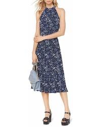MICHAEL Michael Kors Michl Michl Kors Floral Print Midi Dress
