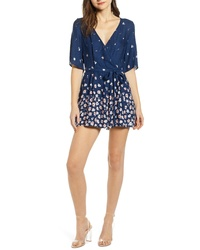 Row A Double V Romper