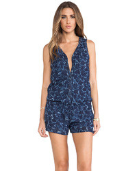 Maison Scotch Floral Playsuit