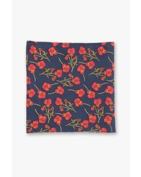 7 For All Mankind Pocket Square Clothing The Nathalie Pocket Square In Navy