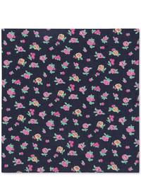 Tommy Hilfiger Floral Print Pocket Square