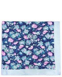 Ted Baker Floral Print Pocket Square