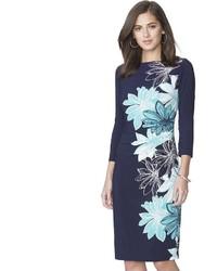 Petite floral shift dress medium 3674589