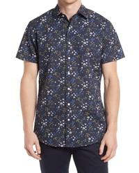 Rodd & Gunn Arrowtown Sports Fit Floral Short Sleeve Button Up Shirt